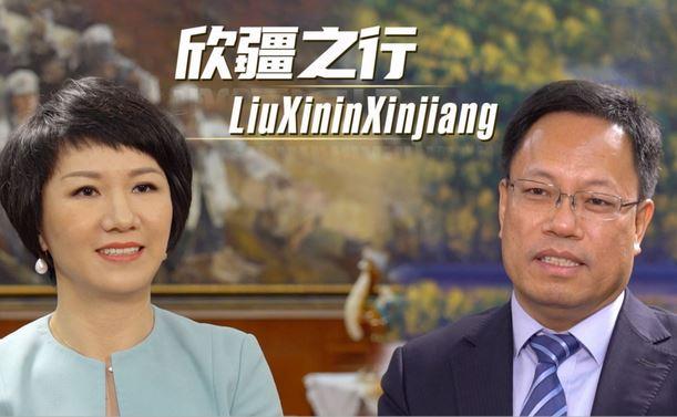Лю Синь в Синьцзяне