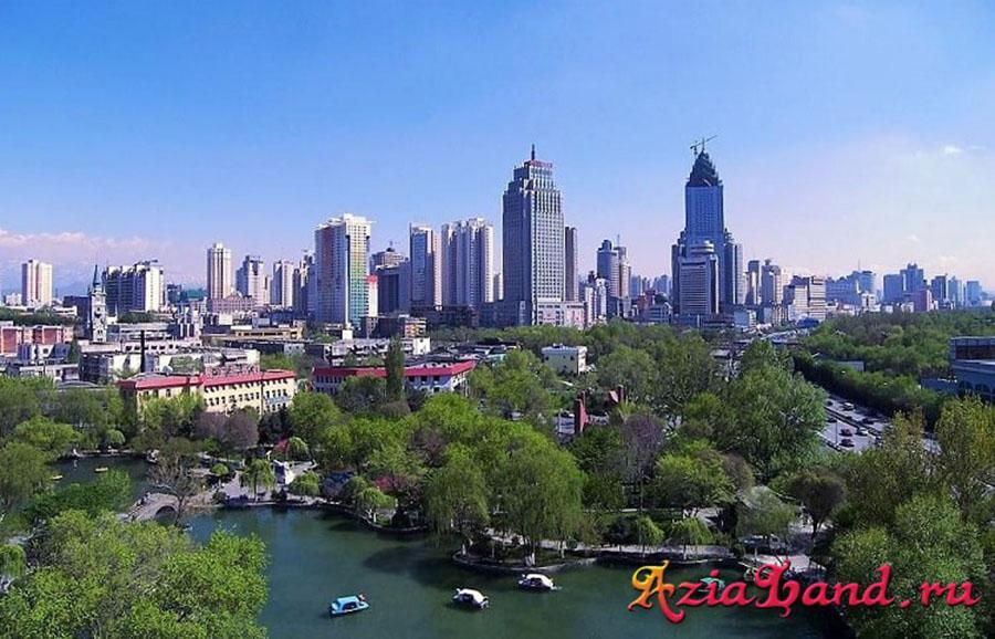 электроэнергия из Синьцзяна